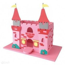 Castillo princesa 3D. Foam