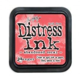 Abandoned Coral. Distress Ink Mini. Tim Holtz Ranger