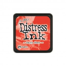 Barn door. Distress Ink Mini. Tim Holtz Ranger