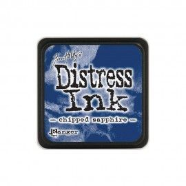 Chipped Sapphire. Distress Ink Mini. Tim Holtz Ranger