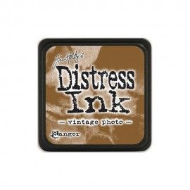 Vintage Photo. Distress Ink Mini. Tim Holtz Ranger