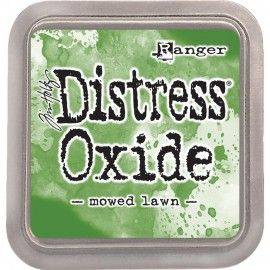 Mowed Lawn. Distress Oxide Ink. Tim Holtz Ranger