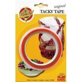 Tacky tape. Cinta de doble...