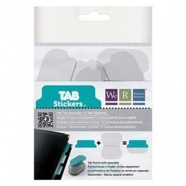 Tab stickers azul